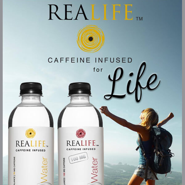 Caffeine Infused Natural Spring Water